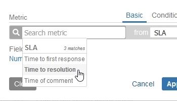 SLA metric